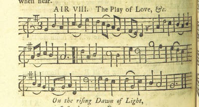 Image from page 19 of The Village Opera [in three acts, in prose; with songs] ... To which is added the musick to each song