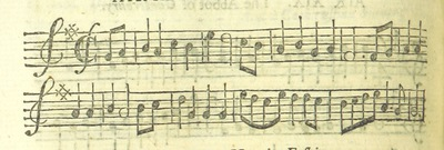 Image from page 35 of The Village Opera [in three acts, in prose; with songs] ... To which is added the musick to each song