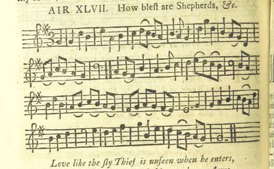 Image from page 63 of The Village Opera [in three acts, in prose; with songs] ... To which is added the musick to each song