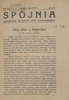 Spójnia, Rok VII/Rok VIII, 1923 r.