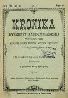 Kronika Diecezji Sandomierskiej 1914 r.
