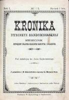 Kronika Diecezji Sandomierskiej 1908 r.