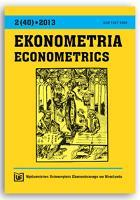Analiza migracji wewnętrznych w kontekście aspektów społeczno-gospodarczych - podejście dwuetapowe. Ekonometria = Econometrics, 2013, Nr 2 (40), s. 62-73