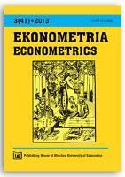Determinants of poverty - binary logit model with interaction terms approach. Ekonometria = Econometrics, 2013, Nr 3 (41), s. 65-77