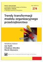 Zarządzanie bezpieczeństwem i higieną pracy - istota i współczesne wyzwania. Prace Naukowe Uniwersytetu Ekonomicznego we Wrocławiu = Research Papers of Wrocław University of Economics, 2012, Nr 274, s. 28-38