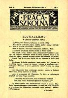 Praca Szkolna : dodatek miesięczny do Głosu Nauczycielskiego, poświęcony sprawom pedagogiczno-dydaktycznym w związku z praktyką szkolną, Rok V, nr 6