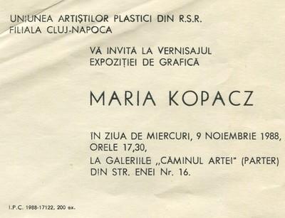 Afișe ale Teatrului Maghiar de Stat și Uniunea Artiștilor Plastici din Cluj-Napoca