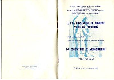 Program de consfătuiri medicale