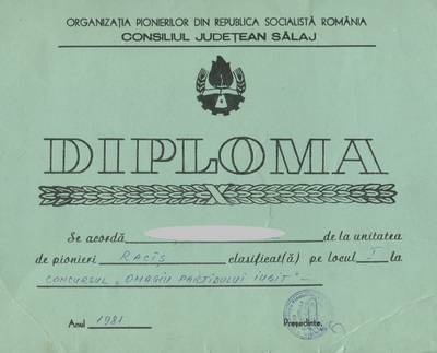 Diplome de pionier