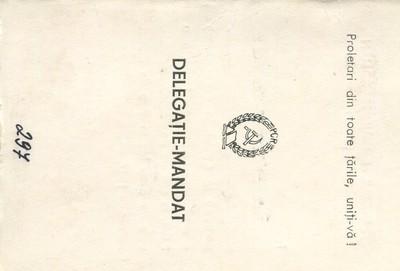 Delegație-mandat