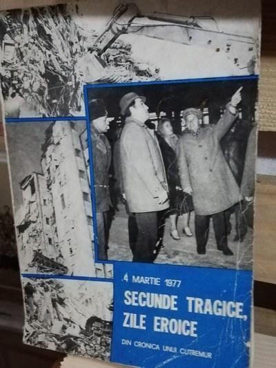 Publicaţie despre cutremurul din 1977