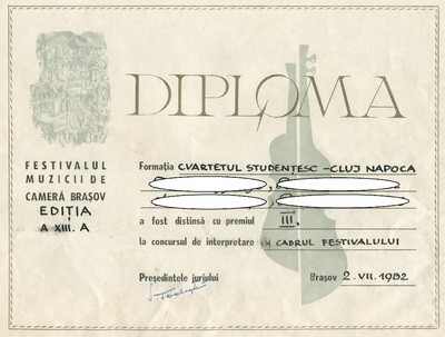 Diplome de participare