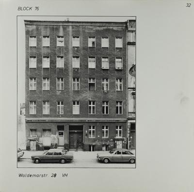 Fotografie: Waldemarstr. 28, um 1981