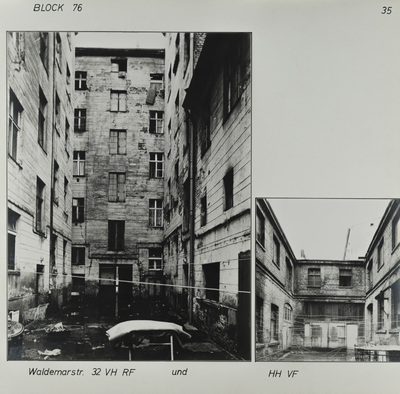 Fotografie: Waldemarstr. 32, um 1981