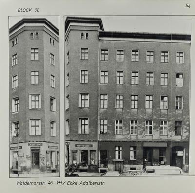 Fotografie: Waldemarstr. 46, um 1981