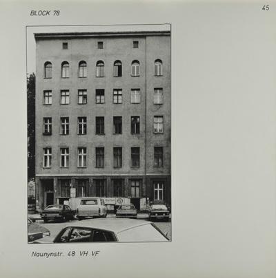 Fotografie: Naunynstr. 48, um 1981