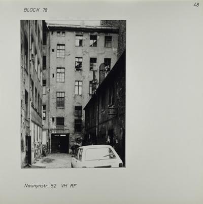 Fotografie: Naunynstr. 52, um 1981