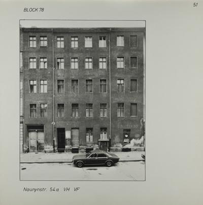 Fotografie: Naunynstr. 54a, um 1981