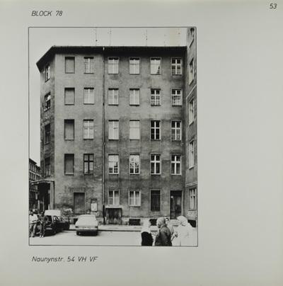 Fotografie: Naunynstr. 54, um 1981