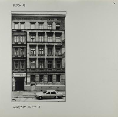 Fotografie: Naunynstr. 55, um 1981