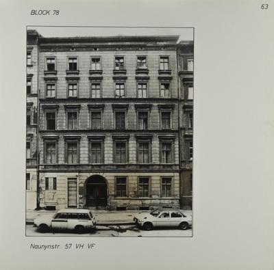 Fotografie: Naunynstr. 57, um 1981