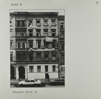 Fotografie: Naunynstr. 58, um 1981