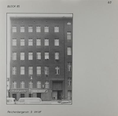 Fotografie: Reichenberger Str. 9, um 1981