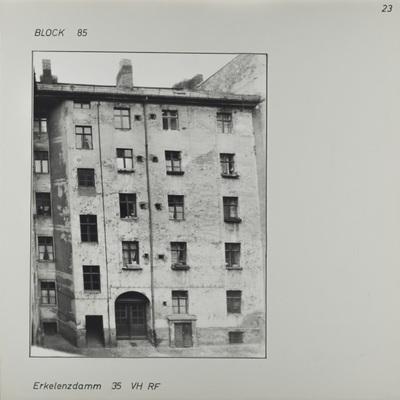 Fotografie: Erkelenzdamm 35, um 1981
