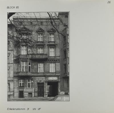 Fotografie: Erkelenzdamm 31, um 1981