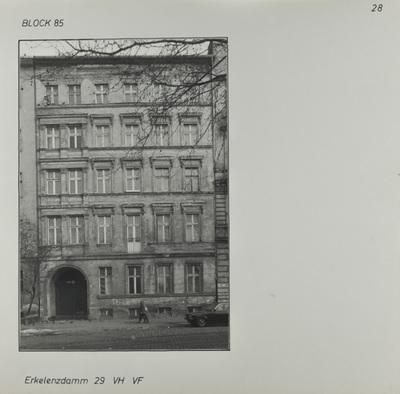 Fotografie: Erkelenzdamm 29, um 1981