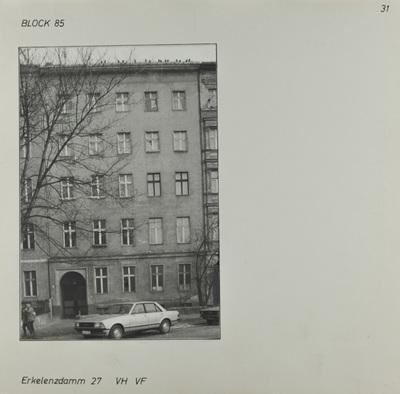 Fotografie: Erkelenzdamm 27, um 1981