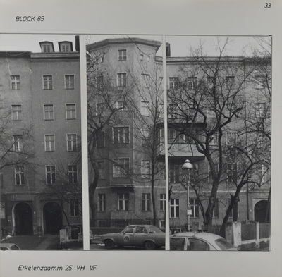 Fotografie: Erkelenzdamm 25, um 1981