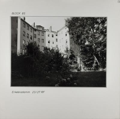 Fotografie: Erkelenzdamm 23-27, um 1981