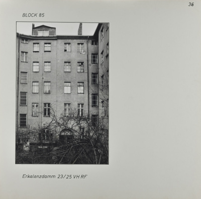 Fotografie: Erkelenzdamm 23-25, um 1981
