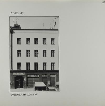 Fotografie: Dresdener Str. 122