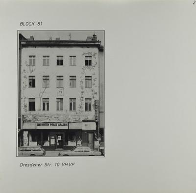 Fotografie: Dresdener Str. 10