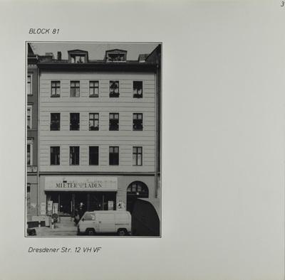 Fotografie: Dresdener Str. 12