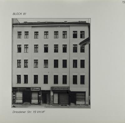 Fotografie: Dresdener Str. 19