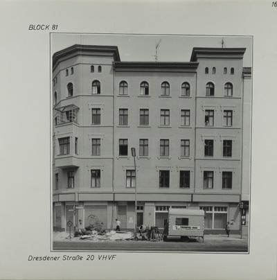 Fotografie: Dresdener Str. 20