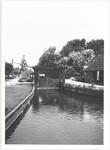 Het Boterdorps verlaat van de polder Bleiswijk c.a., 4 augustus 1971