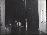 Wateroverlast in Moordrecht, 1 februari 1953