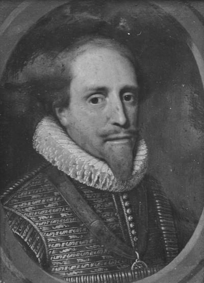 Portret van stadhouder Maurits (1567-1625), prins van Oranje
