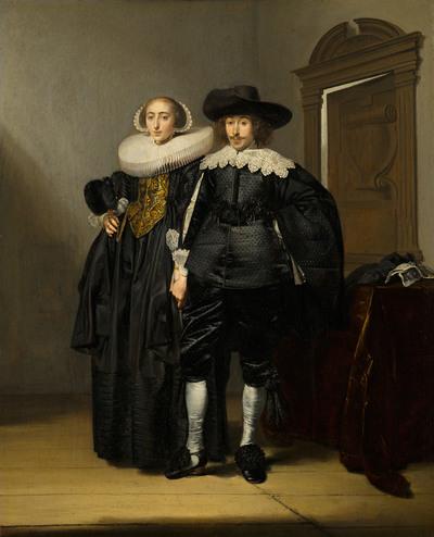 Portret van een echtpaar