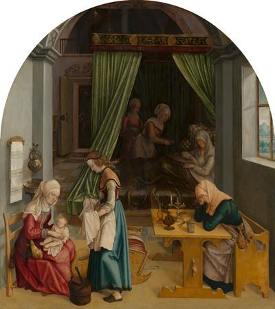 De geboorte van Maria