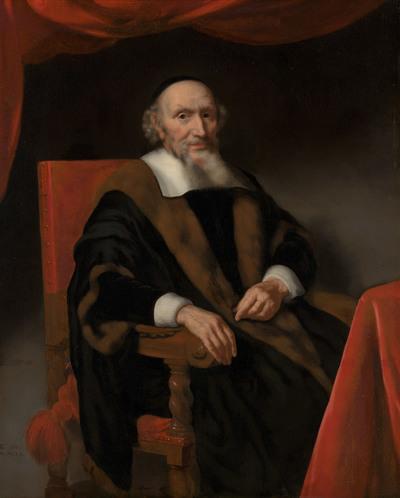 Portret van Jacob Trip (c.1576-1661)
