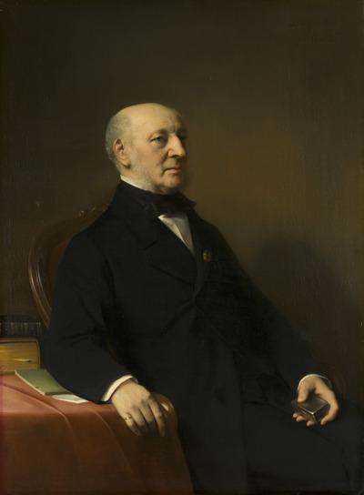 Portret van Jean Zacharia Mazel (1792-1884)