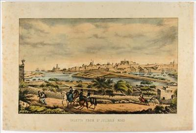 Valletta from St. Julians' Road