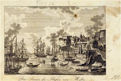 Das Innere Des Hafen von Malta