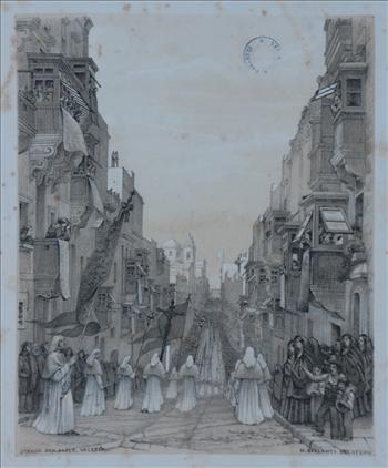 ''Strada San Paolo, Valletta''