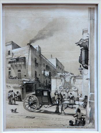 ''Valletta-Porta Reale Fountain''
